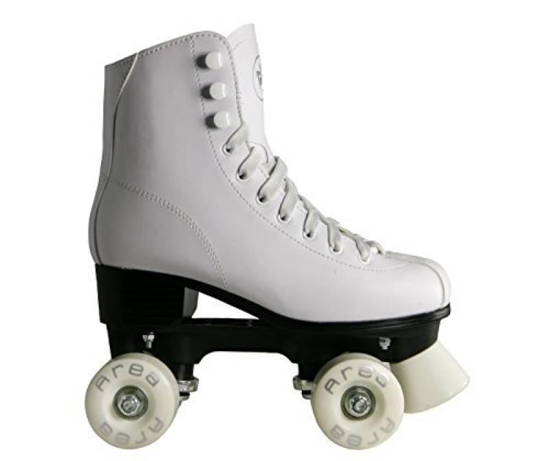 Patins à roulettes pour le patinage artistique QUAD Blanc F4QUAD de la marque My Area TOP 4 image 0 produit