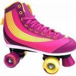 Patins à Roulettes Taille 37383940neuf Violet Rose pour Enfant Roulements ABEC 5de Top Design de la marque Selltex TOP 3 image 1 produit
