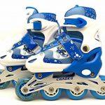 Rollers pour Enfants - lot de protection complet - taille ajustable - 3 couleurs au choix de la marque Chao Ku TOP 3 image 2 produit