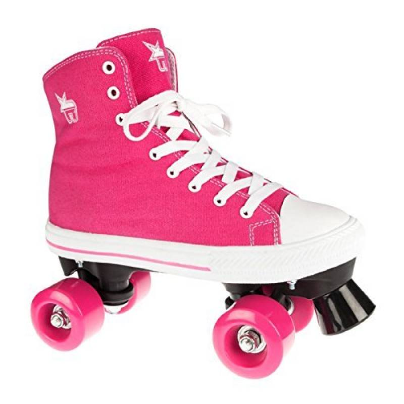 Rookie - Roller Patin Complet Quad Canvas High Pink - Taille:one Size de la marque Rookie TOP 2 image 0 produit