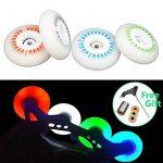 samoa Lot de 4 LED Flash coloré brillant Rollers en ligne de roue avec arc-en-ciel Flash 90 un Roues de skate, roller Skating pour transmission de freinage Seba TOP 3 image 0 produit