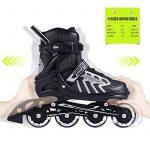 2pm Sports Brice Taille réglable en ligne de patins en ligne à pleine lumière LED roues, Rollers en ligne pour pour Enfants, Femmes et Hommes de la marque 2pm S TOP 2 image 1 produit