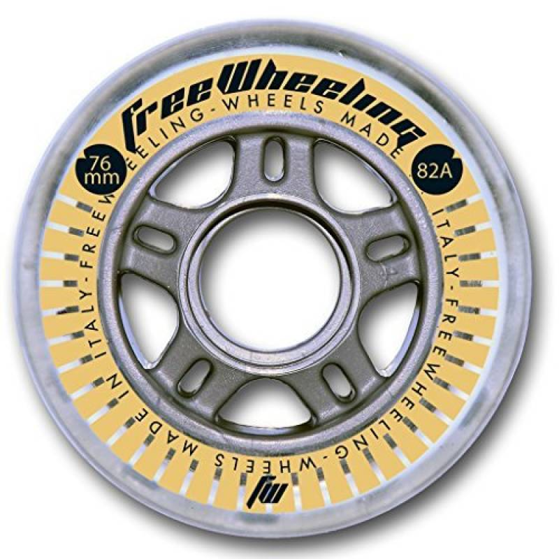 4-Pack Roues de roller Fitness 76mm 82A 1117378 de la marque FreeWheeling TOP 2 image 0 produit